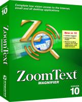 Zoomtext magnifier v10